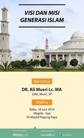 Visi Misi Generasi Muda Islam
