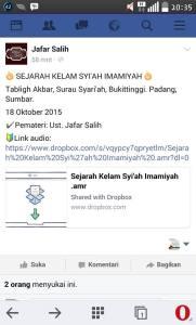 dauroh ustadz jafar salih fb