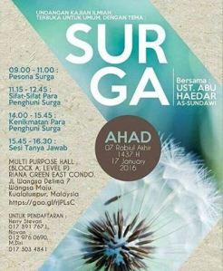 Surga- Ustadz Abu Haidar, Malaysia