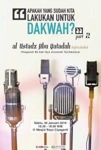 ustadz Abu Qotadah sore