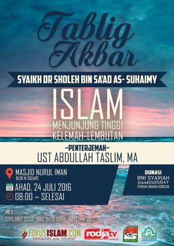 Islam Menjunjung Tinggi Kelemahlembutan
