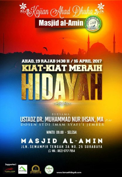 Kiat-kiat Meraih Hidayah ustadz Muhammad Nur Ihsan