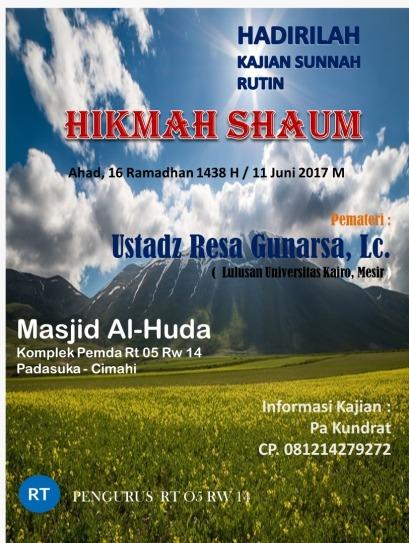 Ustadz Resa Al Hijrah