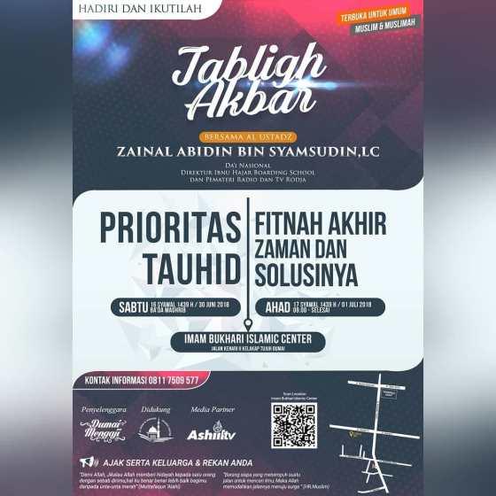 Ustadz Zainal Abdin di Riau
